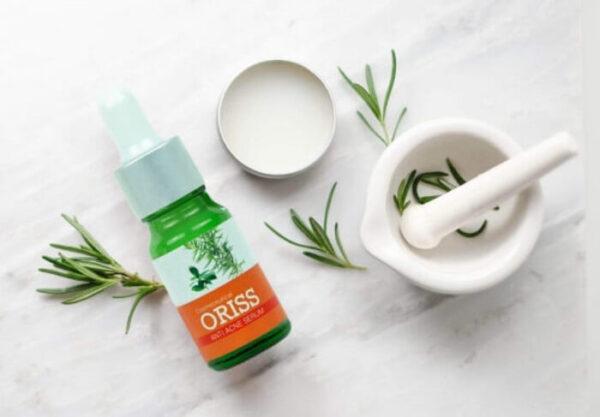 Serum mụn Oriss với thành phần thiên nhiên giúp trị mụn hiệu quả