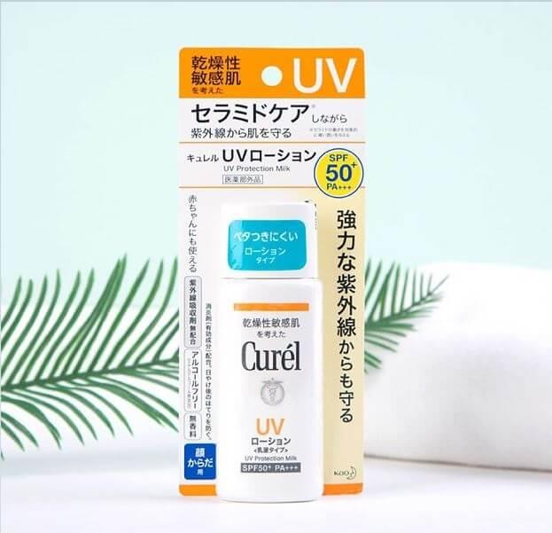 Sữa Chống Nắng Curél SPF50+ PA+++ 60ml UV Protection Milk