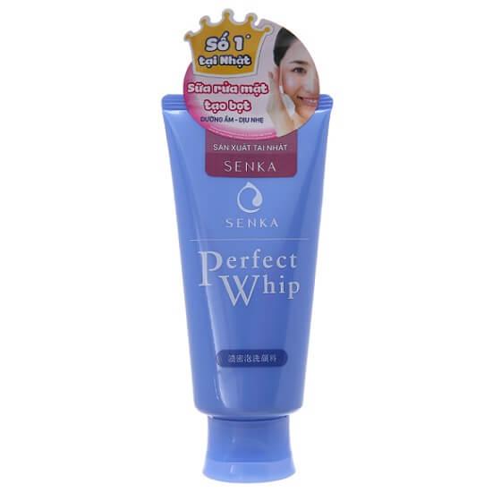 Sữa rửa mặt trắng da Shiseido Perfect Whip