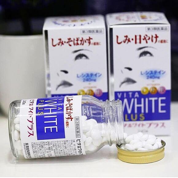 Sản phẩm trị nám Vita White Plus đến từ Nhật bản