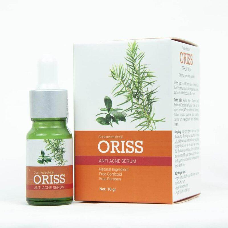 Serum mụn Oriss với thành phần hoàn toàn từ thiên nhiên