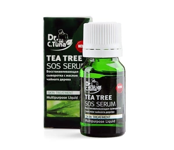 Serum trị mụn cho nam Tea Tree Series Sos Farmasi