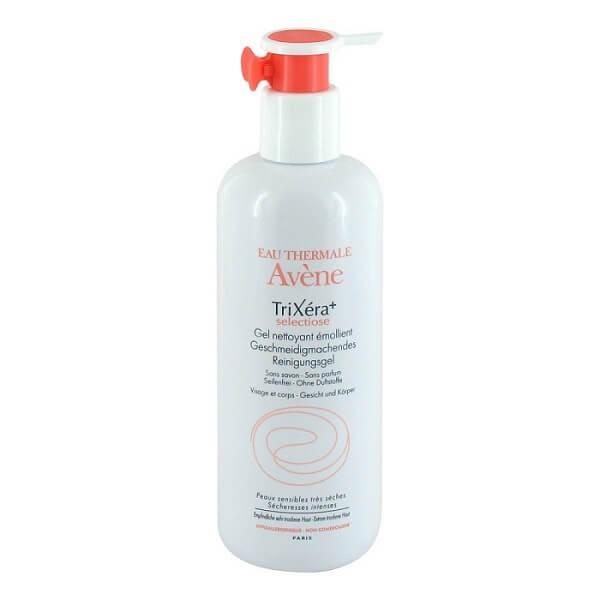 Gel rửa mặt Avene Trixera+ Selectiose Emollient Cleansing