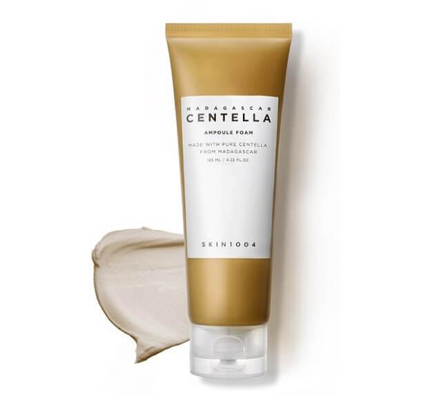 Sữa rửa mặt dành cho da nhạy cảm dễ bị mụn Skin1004 Madagascar Centella Ampoule Foam