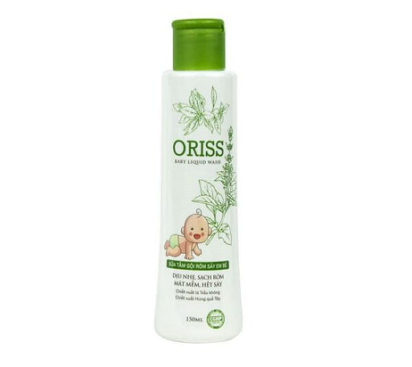 Sữa Tắm Oriss Baby Liquid Wash