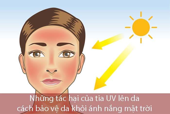 Những tác hại của tia UV và cách phòng ngừa tia UV