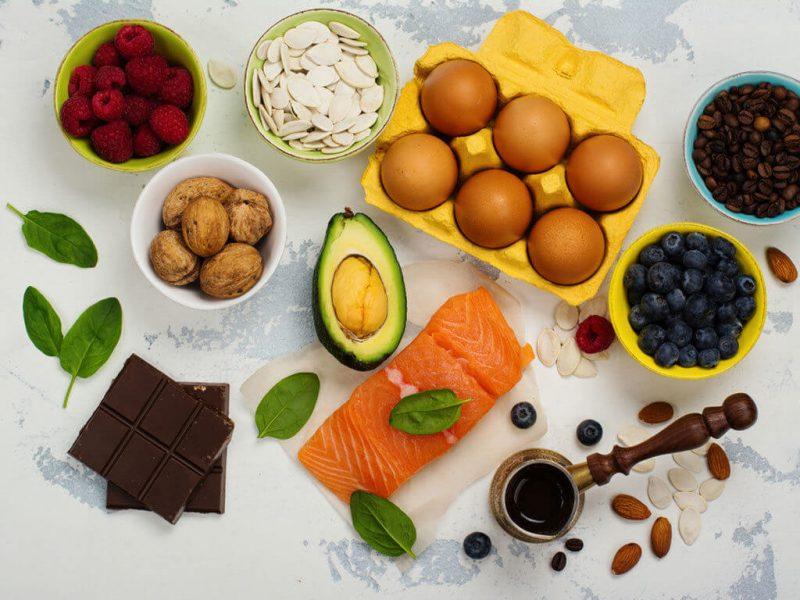 thực phẩm bổ xung các chất rối loạn nội tiết tố