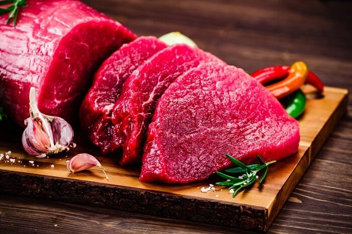 Thịt đỏ chứa nhiều chất dinh dưỡng