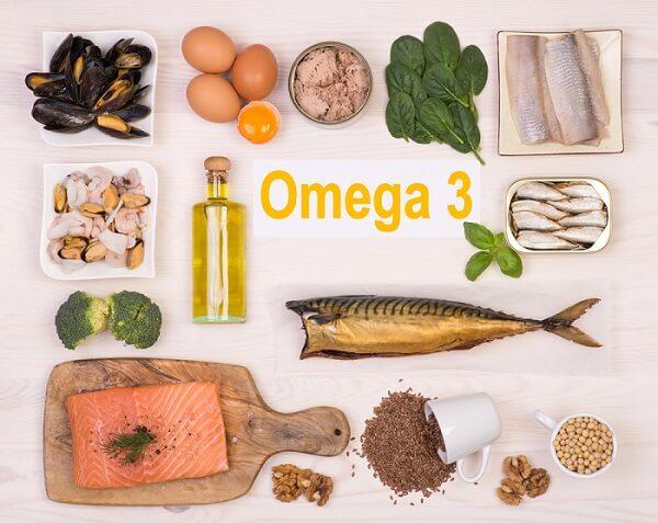 Thực phẩm chứa nhiều dưỡng chất Omega 3 rất tốt cho da