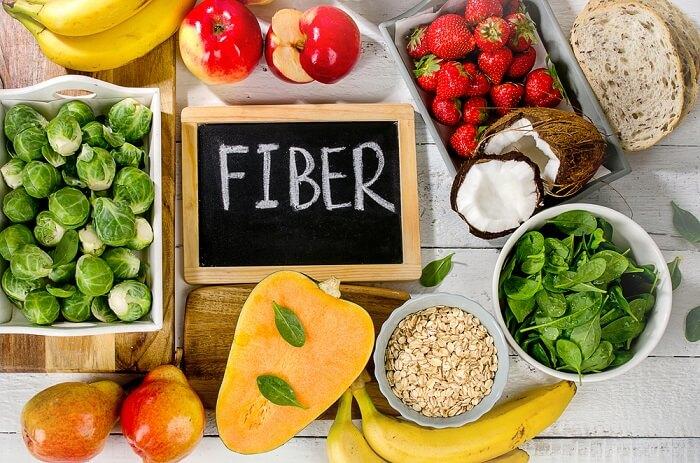 Thực phẩm giàu chất xơ giúp giảm nông độ acid uric trong máu