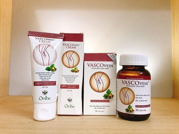 Trọn bộ sản phẩm Vascovein