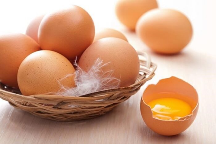 Trứng gà có thể kết hợp cùng một số nguyên liệu để làm đẹp