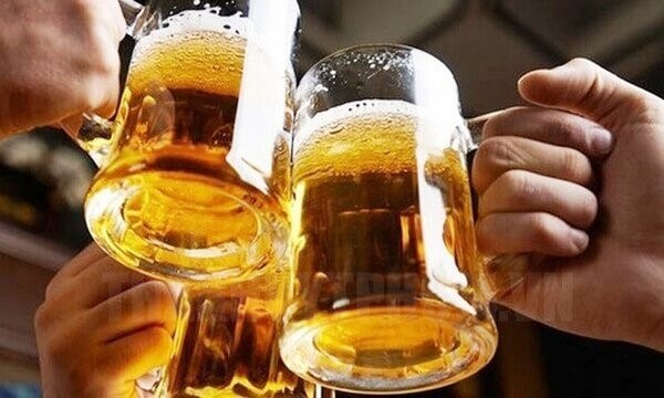 Uống nhiều rượu bia ảnh hưởng đến quá trình của thận làm giảm đào thải acid uric