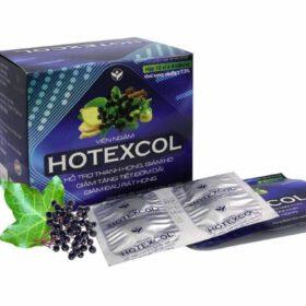 Viên ngậm Hotexcol giúp giảm ho, thông đờm và làm sạch cổ họng