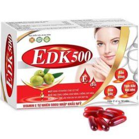 Viên uống EDK500 giúp chống lão hóa da