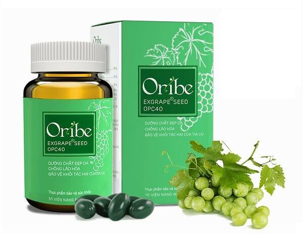 Viên uống Oribe cung cấp dưỡng chất cần thiết cho da giúp bảo vệ da ngay từ bên trong