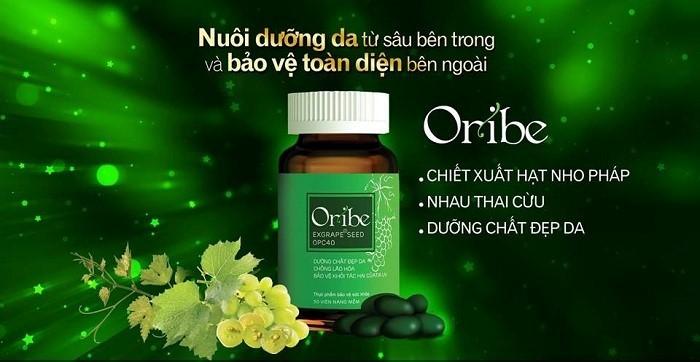 Viên uống Oribe với thành phần từ thiên nhiên giúp đánh bay nám hiệu quả
