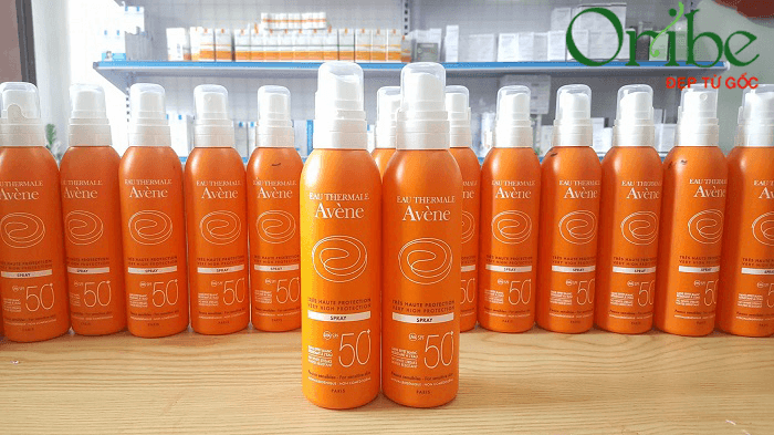 Xịt chống nắng Avene Very High Protection Spray SPF 50