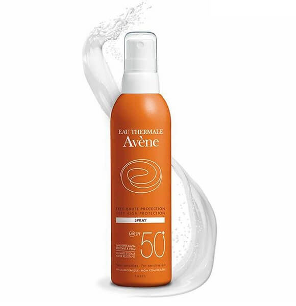 Xịt chống nắng Avene very high protection spray very water resistant spf 50